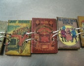 Vintage Children's Book Bracelet