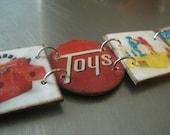 vintage toys bracelet