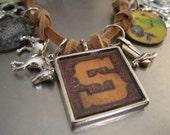 vintage cowgirl bracelet