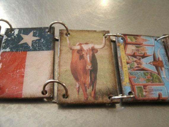 Vintage Texas Bracelet