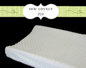 Changing Pad Cover Sewing Pattern - Make any size including Contoured