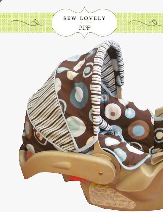 Recovered Infant Car Seat Tutorial