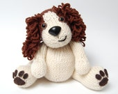 PDF - Knitting Pattern for Daniel the Spaniel - Instant Download