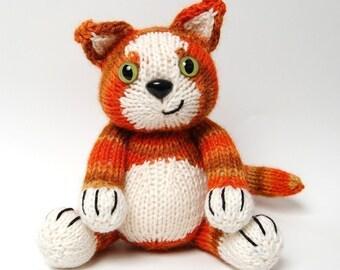 PDF - Knitting Pattern for Jasper the Tom Kitten - Instant Download