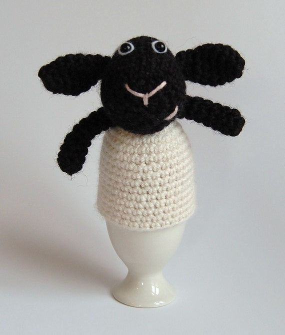 PDF Spring Lamb Egg Cosy/Timmy Time Crochet Pattern