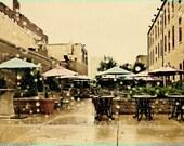 Monty Carlo Minneapolis, fine art photo, wall art, home decor, Minnesota art, office art, rainy day photo