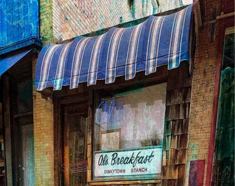 Al's Breakfast Dinky town, U of M Minnesota, digital photo, wall art, home decor, Minnesota art, Minneapolis art