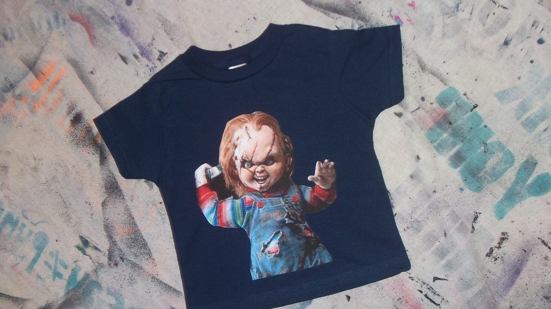 Kids T Shirts Sale Chucky Chuckie Doll Toddler Tshirt Childs