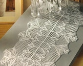 Crocheted Table Runner - Romance