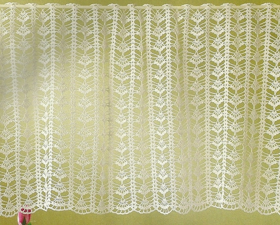 Crocheted Curtain - Morning Breeze free shipping