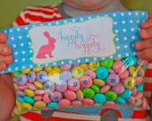 PRINTABLE Easter Treat Bag Toppers - (4) Designs