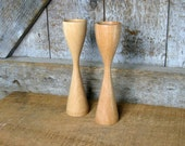 RESERVED. Beech Candle Sticks