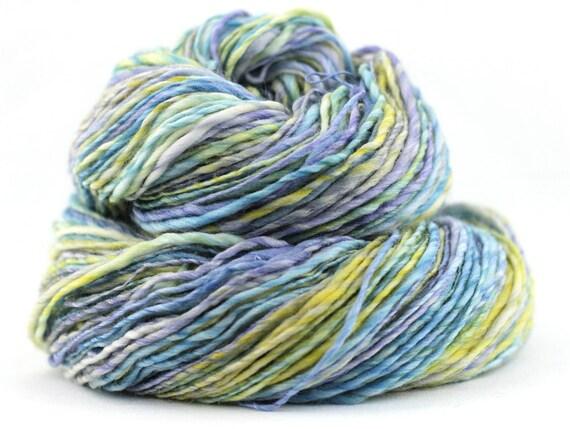 Handspun Yarn - Merino/Bamboo/Nylon - Worsted