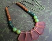Fair Trade Spring Petals Necklace