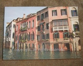 Venice Architecture on Grand Canal Fine Art Photo Greeting Card