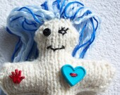 Voodoo Doll knitted - VooDollZ Small
