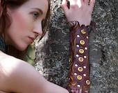 Leather Tribal Armguard