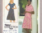 Simplicity 8416 Vintage Sewing Pattern 1970s Dress and Unlined Jacket Uncut