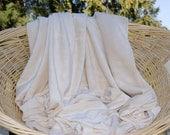 BAMBOO Velour Fabric, Certified Organic, select half yard, 1, 3, 4, 7 yards