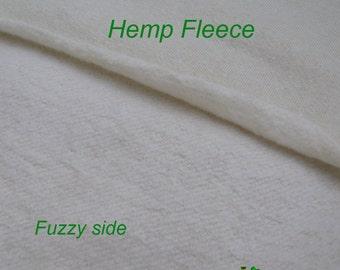 Hemp/Organic Cotton Fleece Fabric
