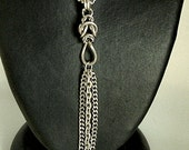 "Stainless Steel  ""Tassle Box"" Necklace"