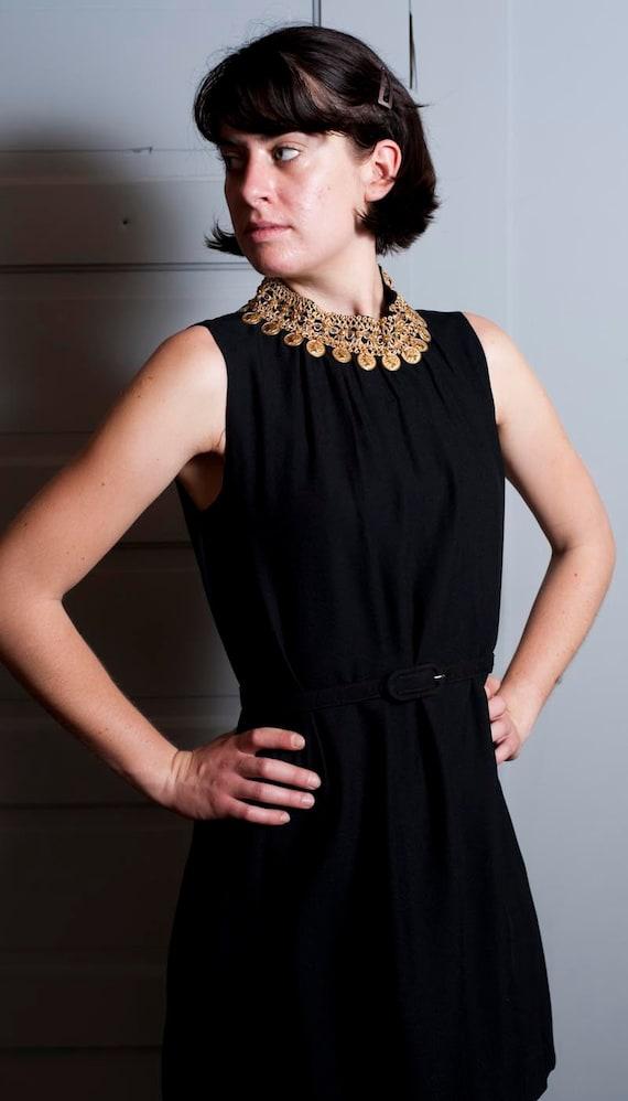 1960s Cleopatra Mini Dress