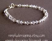 Elegant Swarovski Crystal Bracelet --FREE SHIPPING--