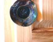 Knob, Hand Thrown Ceramic Knob