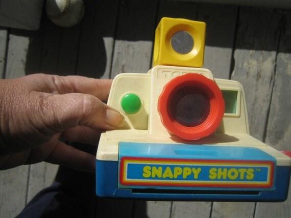 Tomy Camera Vintage 1985 toy Snappy Shots