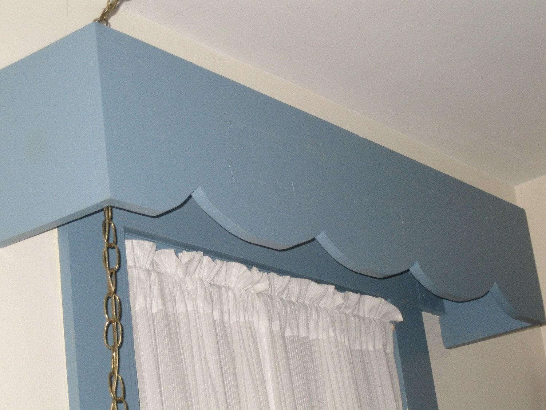 Window Treatments Cornice 3 Vintagevalances Scallop