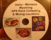 Idaho Montana GPS Rock Collecting and Mining Locations Tutorial