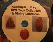 Washington Oregon GPS Rock Collecting and Mining Locations Tutorial