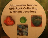 Arizona New Mexico GPS Rock Collecting and Mining Locations Tutorial