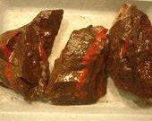 Red Jasper and Hematite Jaspillite Display Craft Rock Stone Rough Michigan Stone