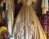 1980s,90s Jessica McClintok Wedding Dress, sz petite