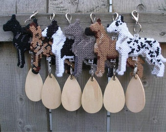 Great Dane dog crate tag or hang anywhere, art decor hanger, Choose from Multiple Colors, Magnet option