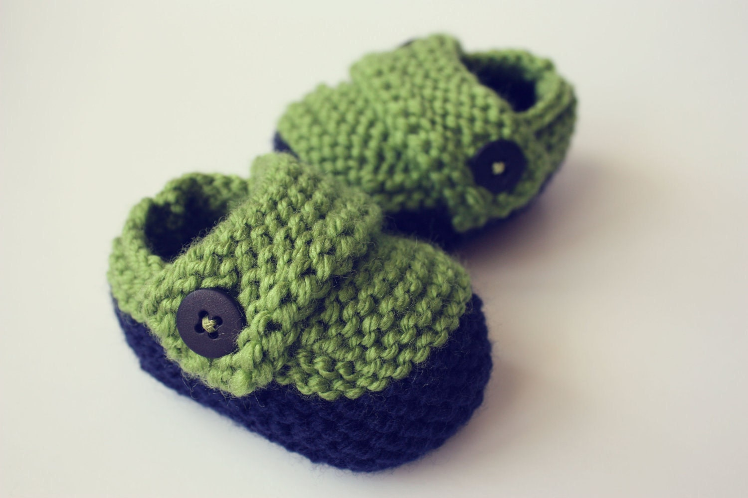 Knitting Shoes For Baby : Knit baby boy shoe pdf pattern instant by elephantshoesknits