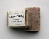 Lemongrass green tea handmade vegan soap
