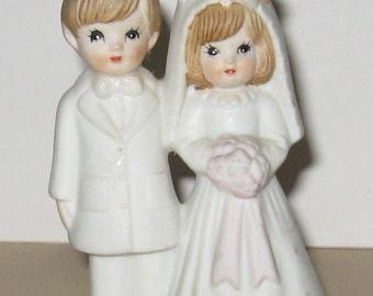 Great Vintage Wedding Cake Topper REDUCED