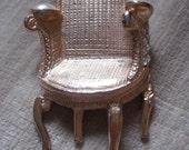 vintage armchair brooch