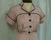 pipe dream girl vintage reproduction blouse ready to ship S