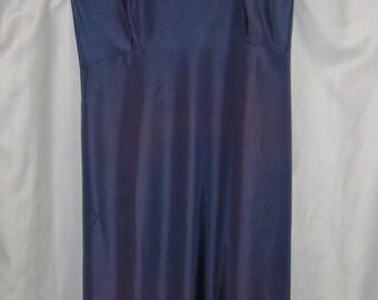 vintage blue slip