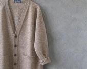 scottish cardigan shetland wool