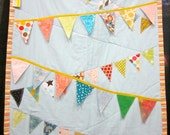 Bunting Pennant Quilt