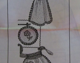 Vintage Kitchen Accessories Pattern - Design 7208