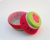 Watermelon Summer Baking Cups (50)