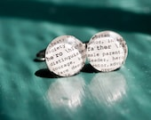 HERO FATHER Dictionary Cuff Links for Wedding, Christmas, Military  by Kristin Victoria Designs