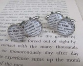 Groomsmen Thank You Gifts, 2 Cuff Link Sets, Dictionary Glass Gem Cuff Links, for Father of the Bride Hero Best Friend by KristinVictoria
