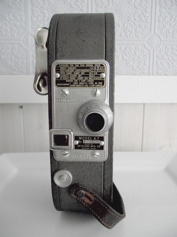 SALE-1930's Keystone 16-mm Movie Camera