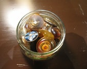 Little jar of old buttons